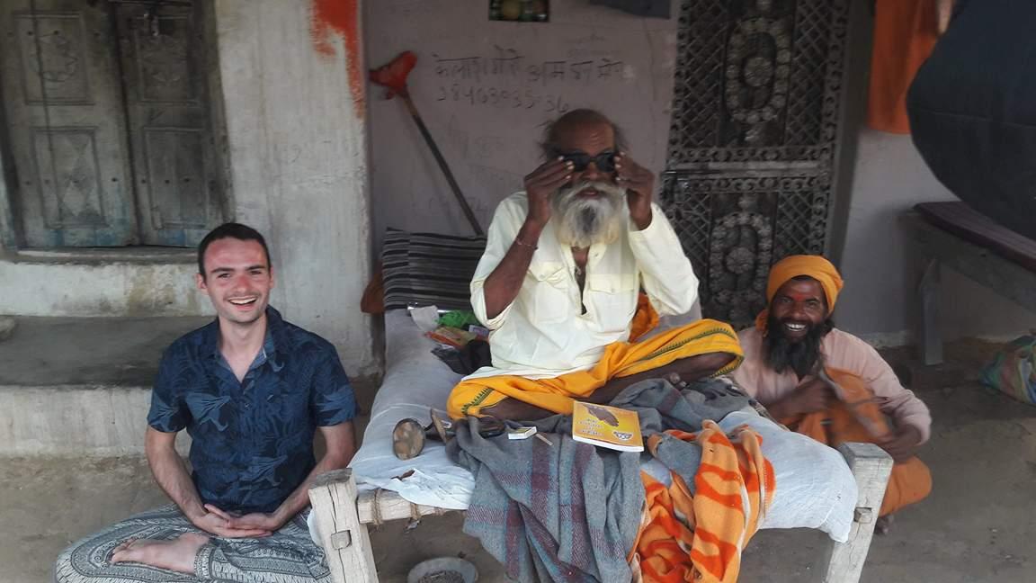 Rencontre avec un maître en Samahadi.