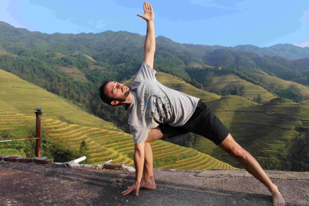 Ashtanga Yoga Half Primary Series practised by Dorian