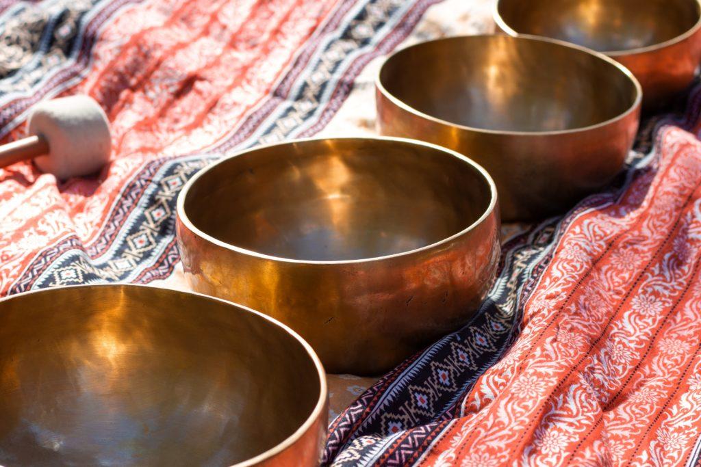 composition des bols tibétains